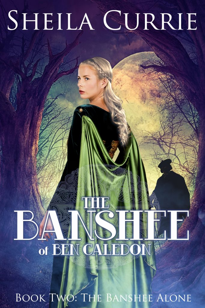 Cover of Banshee of Ben Caledon by Sheila Currie