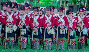 Highland Regiment about 1800