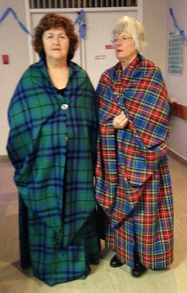Earsaid clothing of Highland Women