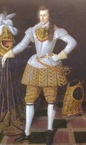 A late 16th century Elizabethan gentleman
