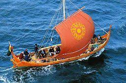 A Birlinn or Galley similar to Iain Garbh, which was sunk by witchcraft