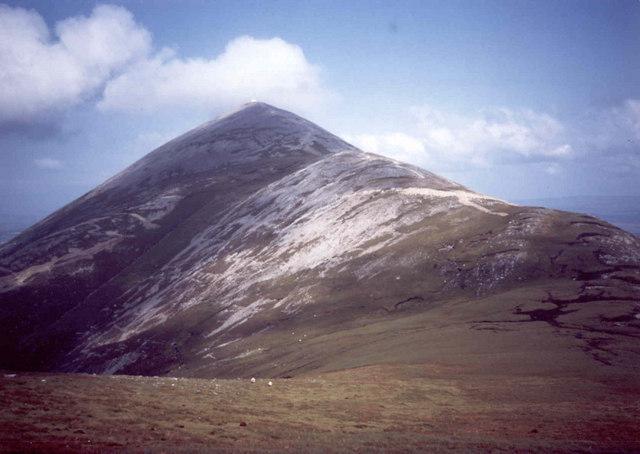 Croagh Patrick Cruach Phátraic which wsa the site where pagan gods Lugh and Taran fought