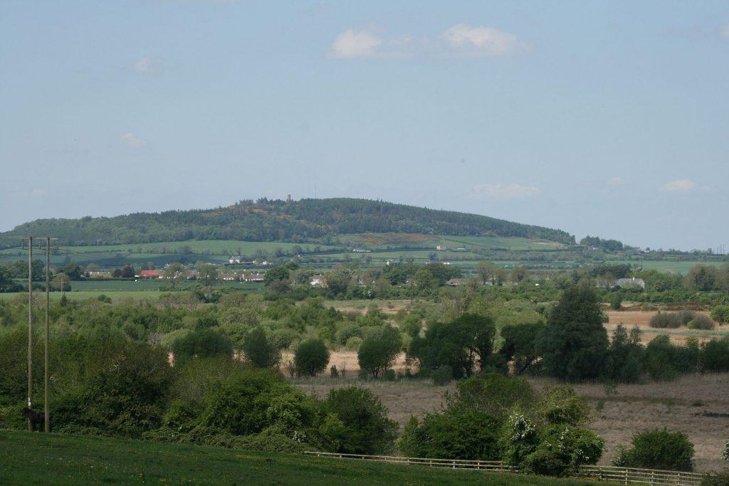 Hill of Allen Fionn mac Cumhaill's home