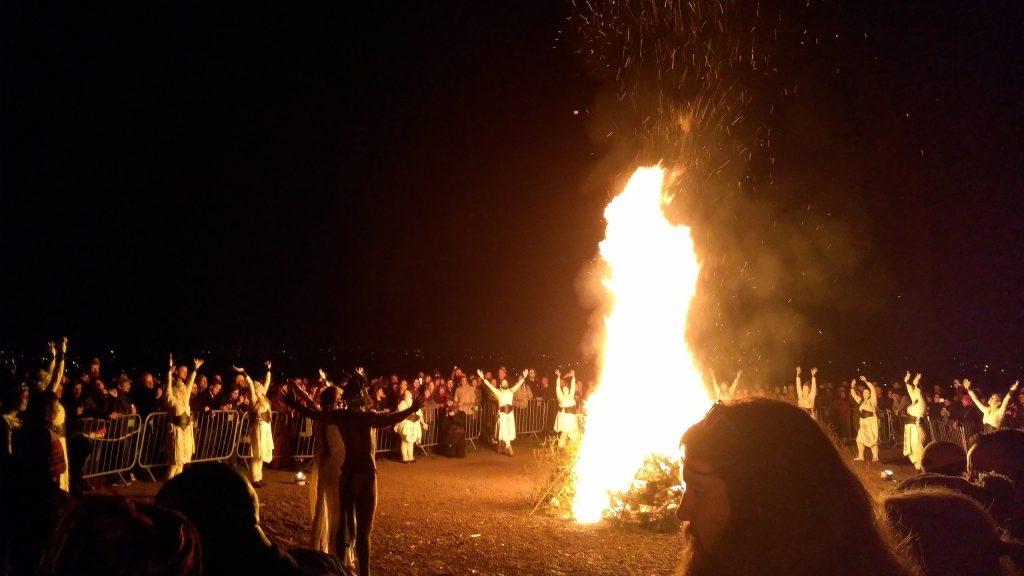 Beltane Edinburgh a modern fire festival