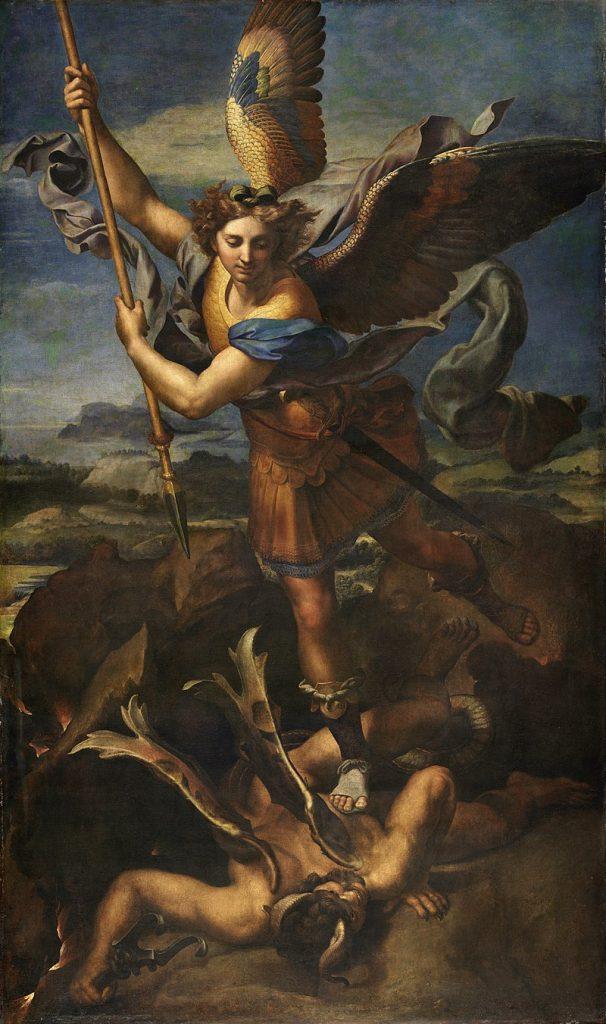 St Michael vanquishing the devil